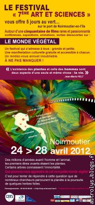Programme Festival art et sciences
